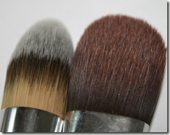 Sonia Kashuk Foundation Brush Comparison 2