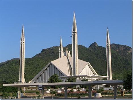 Masjid Faisal di Islamabad