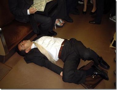 drunk salaryman