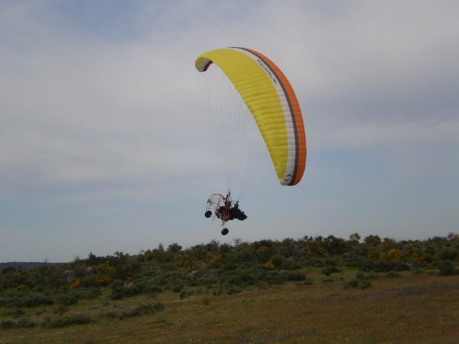 Open Extremadura de paramotor Alburquerque 2010