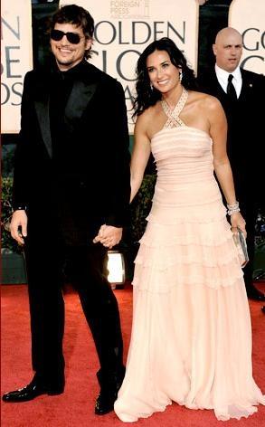 Ashton y Demi