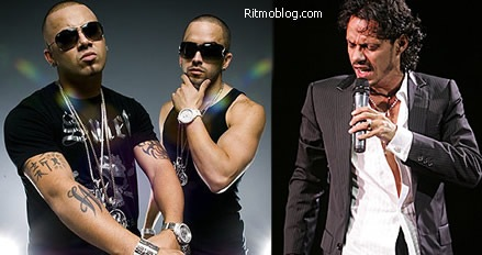 Wisin, Yandel y Marc Anthony