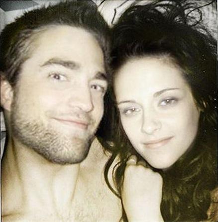 Robert Pattinson  on Robert Pattinson And Kristen Stewart In Bed