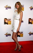 "Taylor Swift attends the ""Hannah Montana The Movie"" screening at"