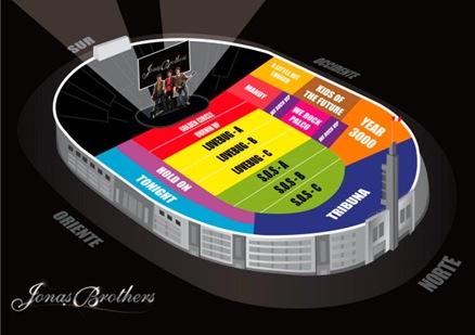 mapa estadio