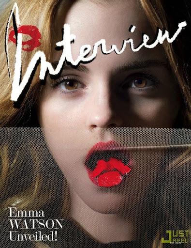 Emma Watson Interview Magazine. Emma Watson - Revista