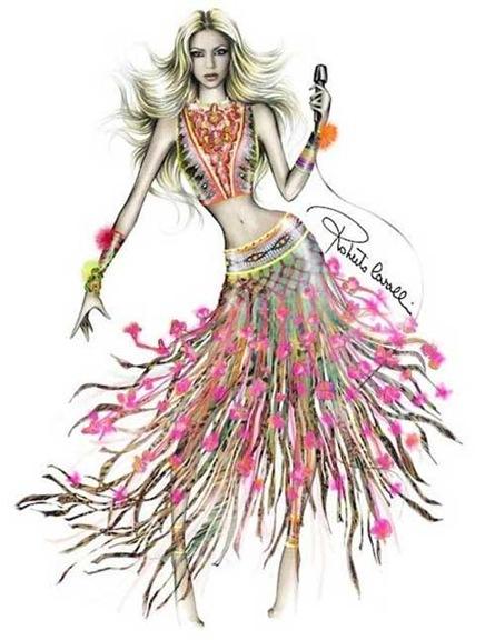 vestido-shakira-clausura-mundial-sudafrica-2010