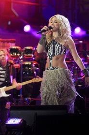 Shakira en el Concierto de Apertura del Mundial de Sudáfrica 2010