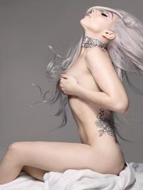 Lady Gaga en VanityFair 2