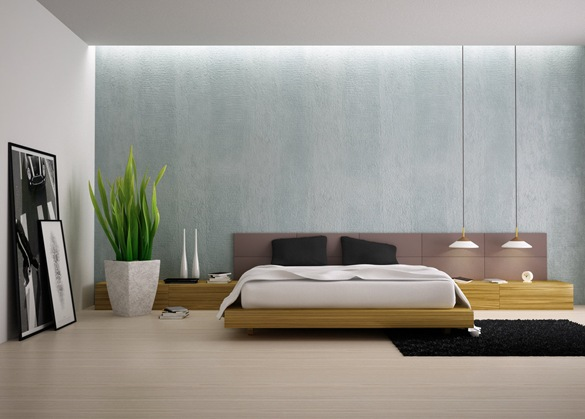 modern-bedroom-with-plants