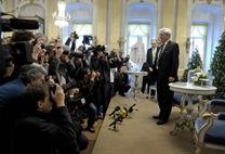 Entrega del Premio Nobel a Vargas Llosa