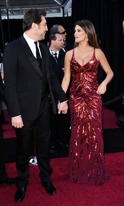 Bardem y Penelope en los Oscar 2011