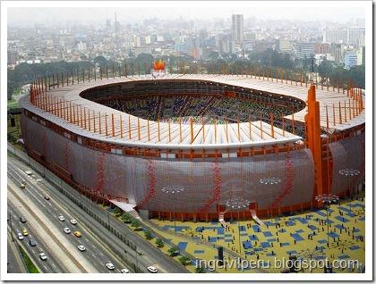 Estadio Nacional Lima - Perú