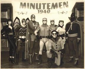A Watchmen első generációs hősei