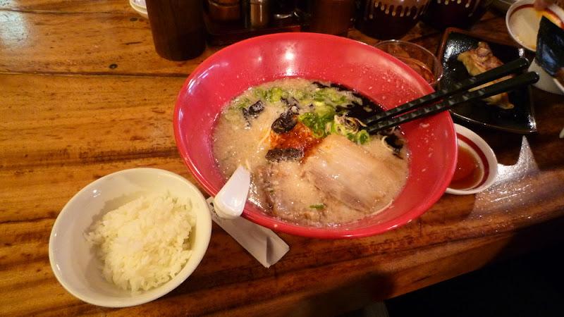 ramen, ラーメン, tonkotsu, 豚骨, Ippudo, 一風堂