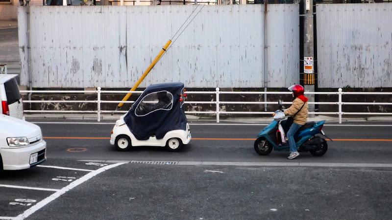 cochecito, mini, coche, car, 車, WTF