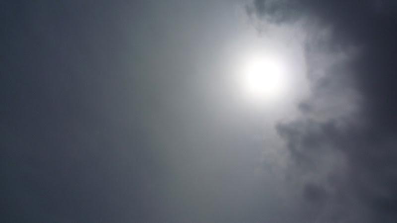 Eclipse, 日食, Fukuoka, Kyushu, Japón, Japan, 福岡, 九州
