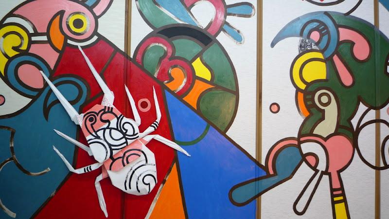 福岡, 稲口マンゾ, fukuoka, Manzo, Inaguchi, mural, 壁画
