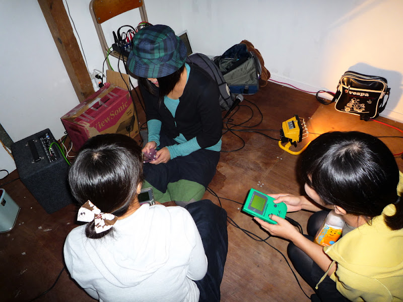 improvisación, chiptune, gameboy, jam session, セッション