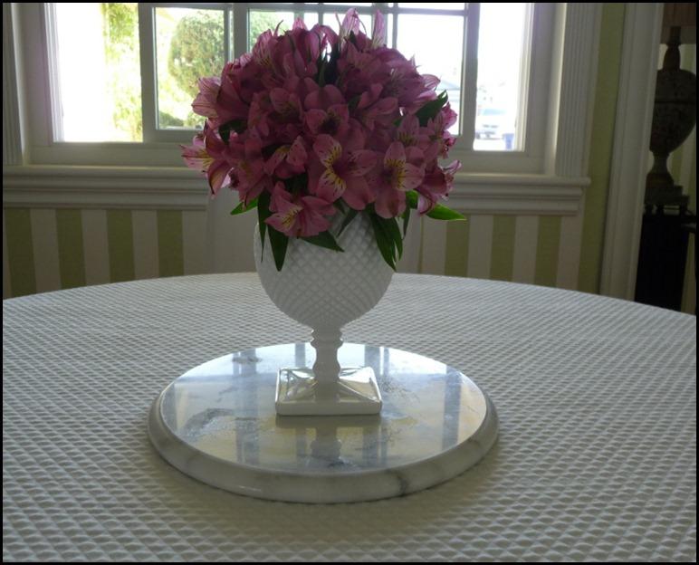white milk glass rose bowl 003