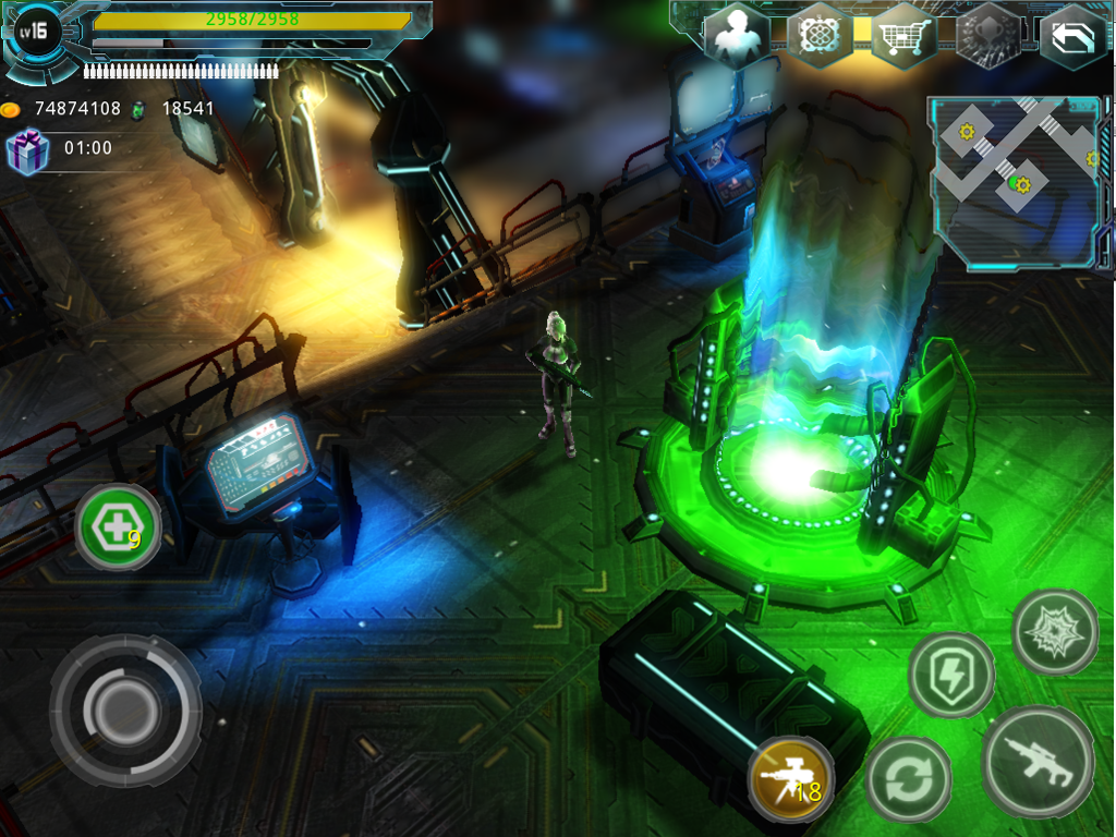 Alien Zone Plus Screenshot 6