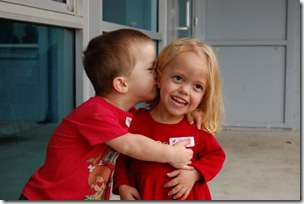 Aidan and Caty