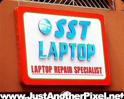 SST Laptop in MOA