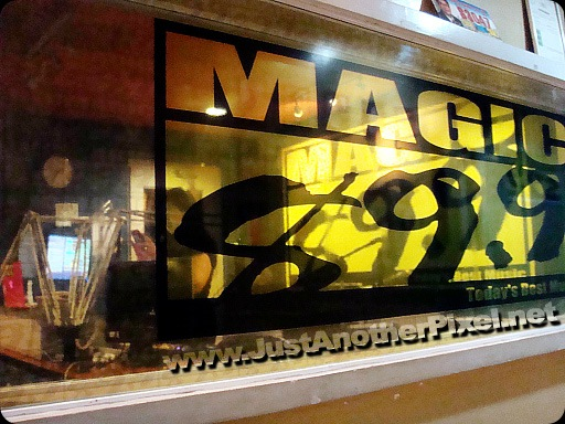 Magic 89.9 station with DJ Suzy of the Big Meal at the booth - JustAnotherPixel.net