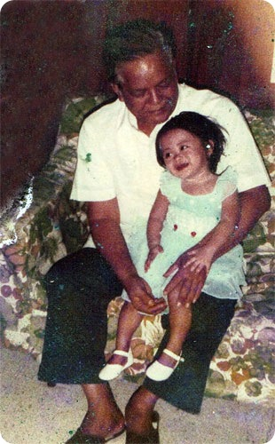 The last photo of me and my grandfather, Lolo Pedro - JustAnotherPixel.net