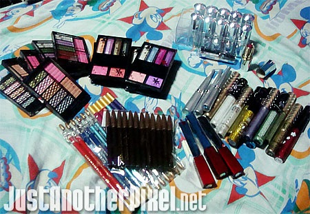 Makeup we bought from Divisoria - JustAnotherPixel.net