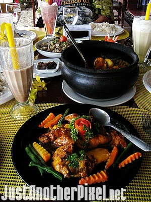 Everything we had for lunch at Emohruo Beach Restobar in Saud Beach, Pagudpud - JustAnotherPixel.net