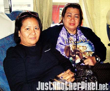 Nanay with her best friend Tita Beth - JustAnotherPixel.net