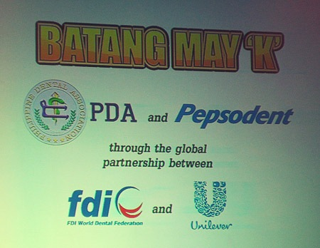 Batang May K brought to us by PDA and Pepsodent, through the global partnership of FDI and Unilever - JustAnotherPixel.net