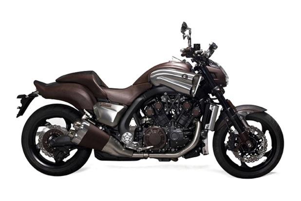 hermes yamaha vmax concept bike