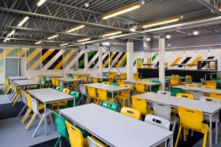 Applemore College Canteen - Southampton