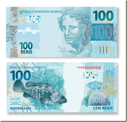 Nova cedula de 100 reais