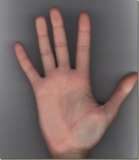 FCCO Mão direita  - color