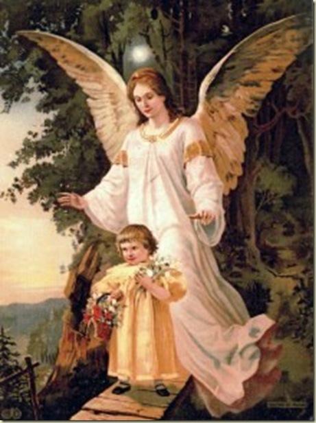 Anjo da Guarda rogai por nós
