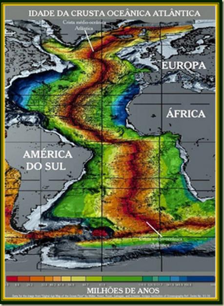 Martzi 14 Idade da Crosta Oceânica Atlântica