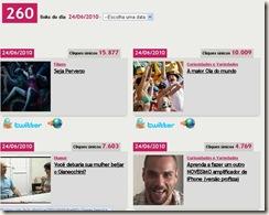 Ocioso 260 links em 24 de Junho de 2010