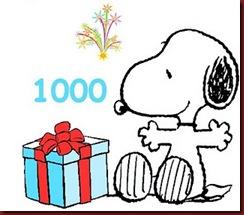 1000 visitas de blog