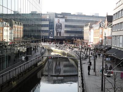 El centro de Aarhus