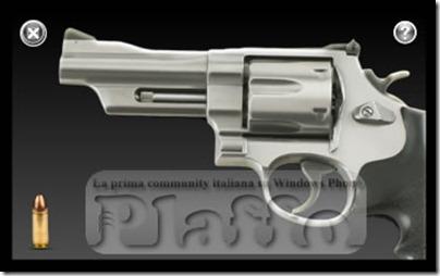 silver revolver