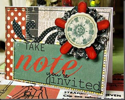 card embellishment