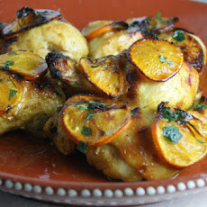 Spiced clementine chicken