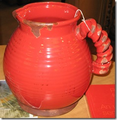 Jug for top of diningroom table