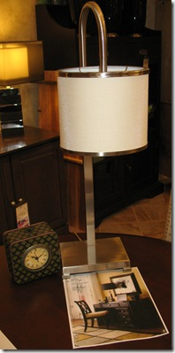 Desk Lamp and Clock