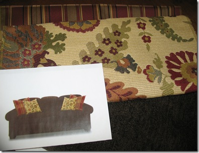 Sofa Fabric and Pillow Fabrics