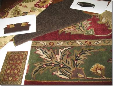 Sofa Ottoman Area Rug