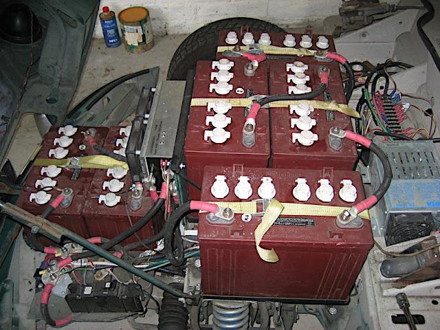 Batteries galore